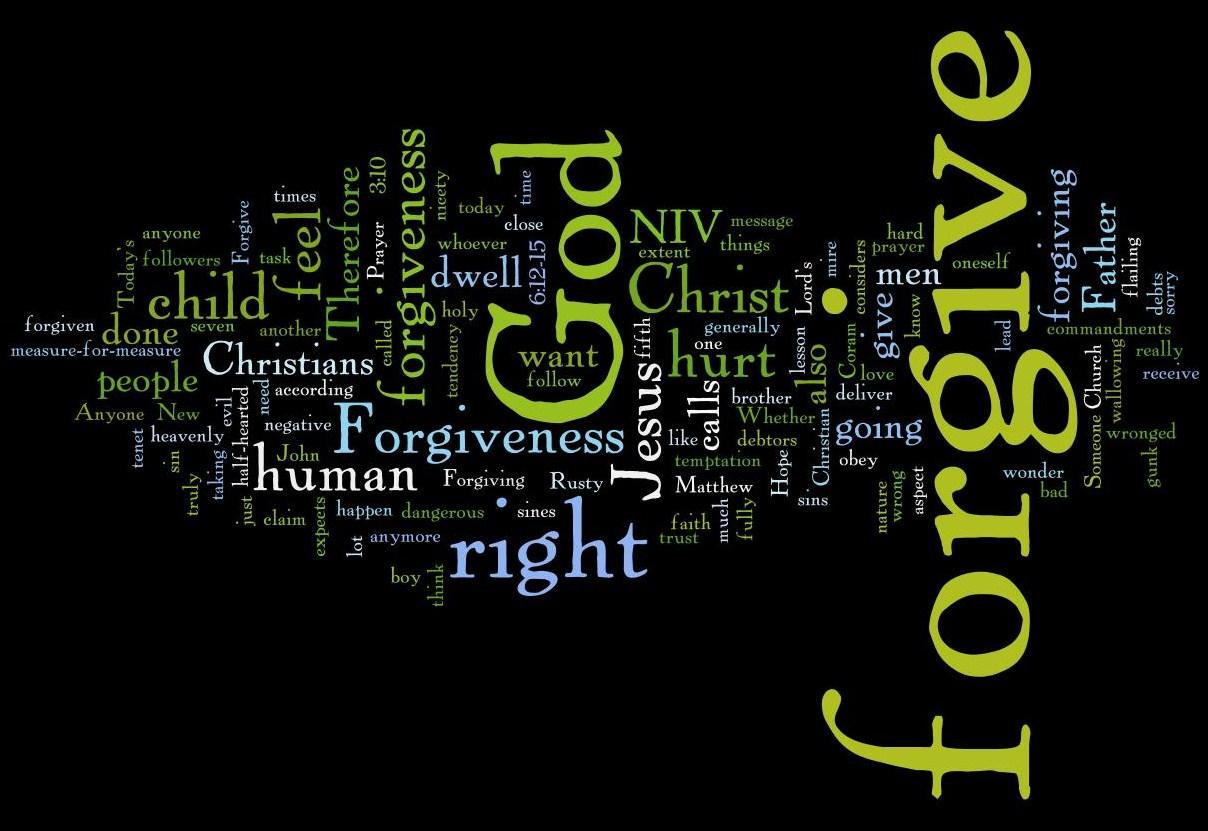 Forgiveness | Russ Petcoff's Blog